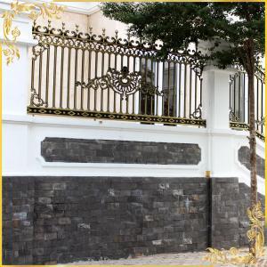 Hàng rào nhôm đúc 014