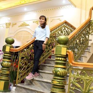 Công trình cầu thang nhôm đúc Anh Tiến Trảng Dài Biên Hòa